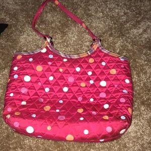 Vera Bradley polka dot bag